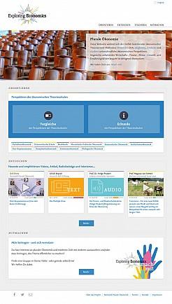 Exploring Economics Portal